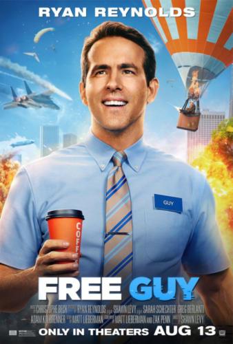 Free Guy starts Aug 13