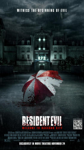 Resident Evel: Welcome to Raccoon City starts Nov 24