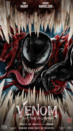 Venom 2 starts Oct 1